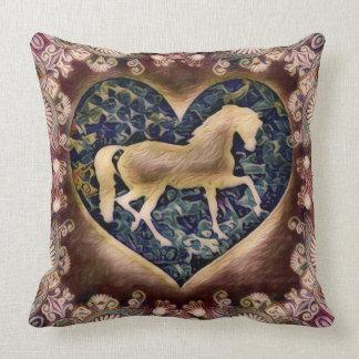 Cavalo majestoso almofada