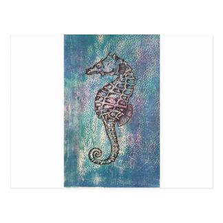 Cavalo marinho cartão postal