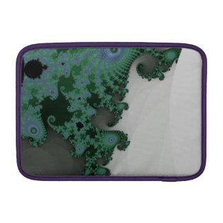 Cavalo marinho esmeralda bolsa de MacBook air