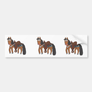 Cavalo ocidental de Riki Adesivo Para Carro