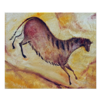 cavalo um la Altamira Impressão