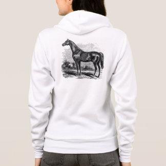 Cavalos retros do puro-sangue do cavalo de raça camisetas