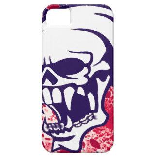 CAVEIRA AZUL iPhone 5 CAPAS