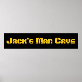 Caverna do homem poster