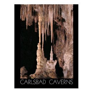 Cavernas parque nacional de Carlsbad, New mexico Cartão Postal