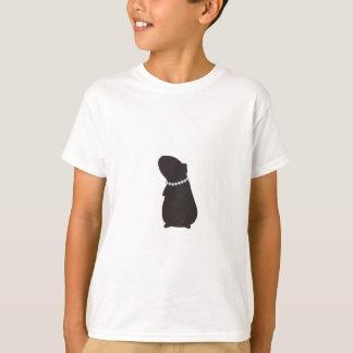 Cavy elegante: Piggie e pérolas Camiseta
