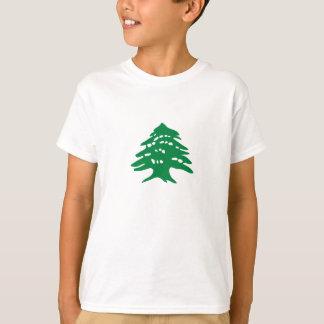 Cedro verde de Líbano Camisetas