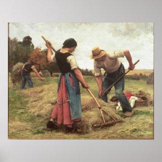 Ceifa, 1880 pôster