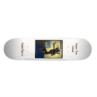 Ceifador & skates engraçados de Skythe