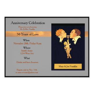 celebração do aniversário convite 12.7 x 17.78cm