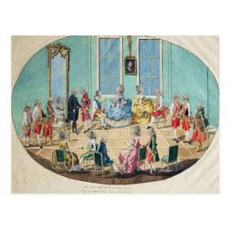 Celebração do ano novo em Viena em 1782, 1783 Cartão Postal