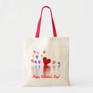 Celebração do dia dos namorados bolsa tote
