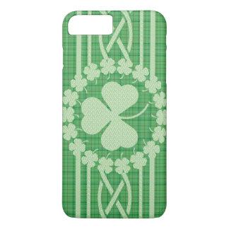 Céltico irlandês do trevo capa iPhone 8 plus/7 plus