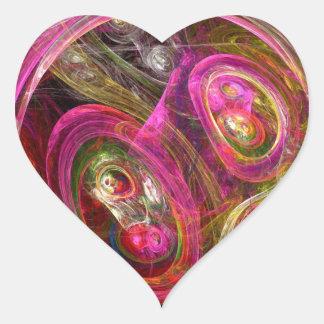Celular Adesivo Coração