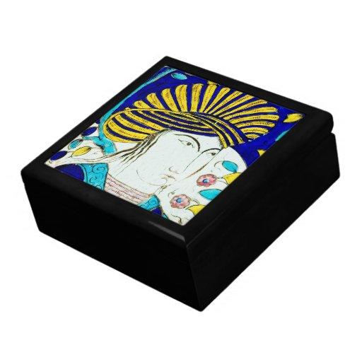 CEN do azulejo 12o. de Kuwait - caixa 1 Caixa De Persentes