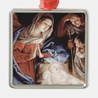 Cena da natividade ornamento para arvores de natal