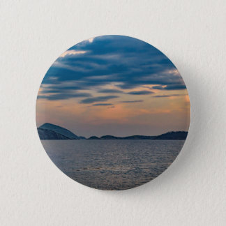 Cena da paisagem da praia Rio de Janeiro de Bóton Redondo 5.08cm
