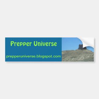 Cena de Utá do universo de Prepper Adesivo Para Carro