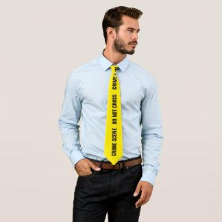 Cena do crime gravata