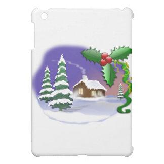 Cena do Natal Capa Para iPad Mini