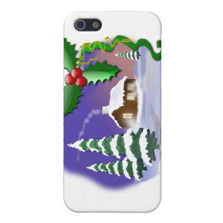 Cena do Natal iPhone 5 Capas
