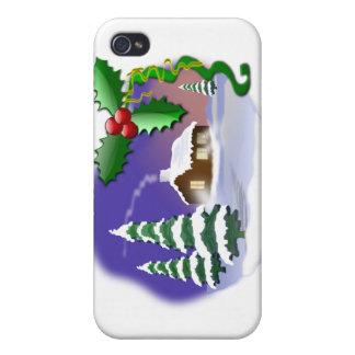 Cena do Natal iPhone 4 Capas