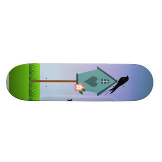 Cena do pássaro shape de skate 18,4cm