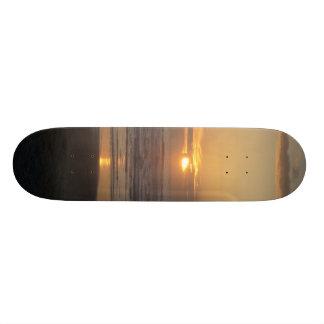 Cena do por do sol shape de skate 18,7cm