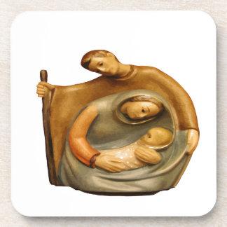 Cena Mary Joseph Jesus da natividade Porta-copos