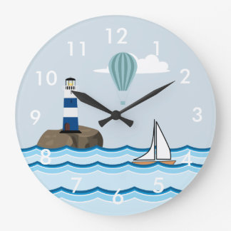 Cena náutica relógios para pendurar