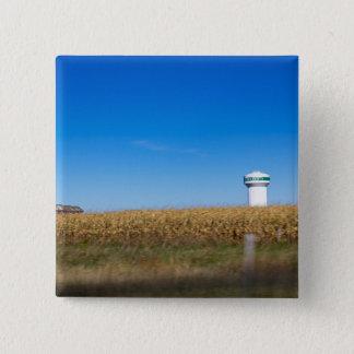 Cenário norte de Iowa EUA da liberdade com torre Bóton Quadrado 5.08cm