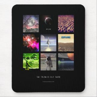 Cenas do espaço mouse pad