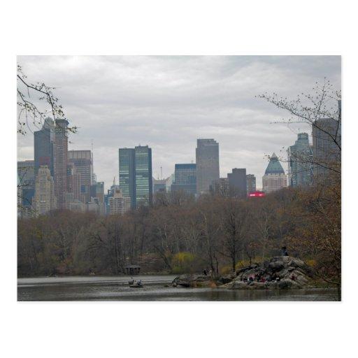 Central Park 002 Cartoes Postais