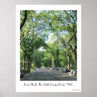 Central Park: A caminhada do poeta no verão Posteres