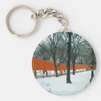Central Park - a exibição das portas Chaveiro