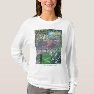 Central Park, arco do Greywacke de Central Park T-shirts