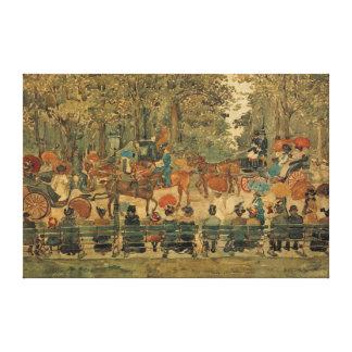 Central Park Impressão De Canvas Esticadas