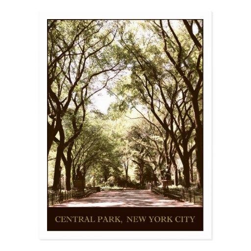 Central Park Cartao Postal