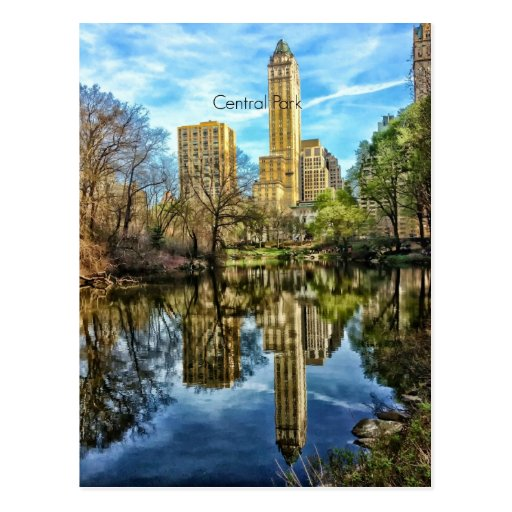 Central Park Cartoes Postais