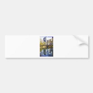 Central Park com reflexão NYC Adesivo Para Carro