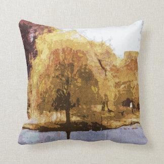 Central Park no travesseiro do outono