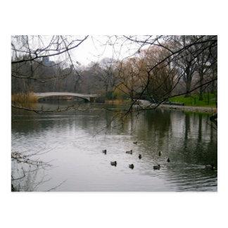 Central Park, Nova Iorque Cartões Postais