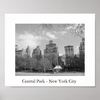 Central Park - Nova Iorque Poster