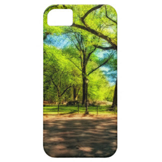 Central Park NYC do caso do iPhone 5 Capa Barely There Para iPhone 5