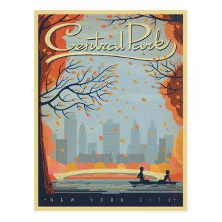 Central Park, NYC - queda Cartão Postal