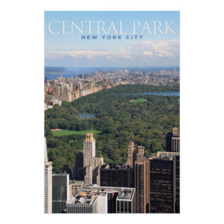 Central Park Posteres