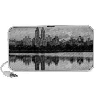 Central Park, skyline de NYC Caixinha De Som Para Mini