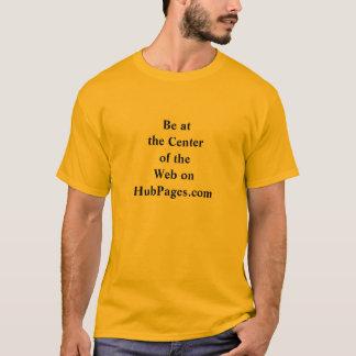 Centro da camisa da Web