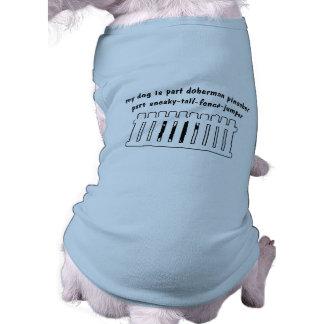 Cerca-Ligação em ponte da peça do Pinscher do Dobe Camisa Para Cães