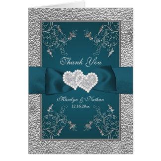 Cerceta, cartões de agradecimentos florais do